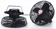 "6"" Mini Permanent Magnet Brushless Motor All Metal Fan with Ceiling Base"