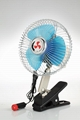 "DUAL POWER 12 V BATTERY 10"" PORTABLE CAR FAN FOR AUTO FAN 8"