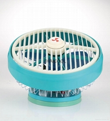 "10"" ceiling box fan for bus"