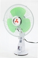 Oscillating Mini Suction Car Fan with