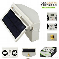 太阳能汽车排气扇