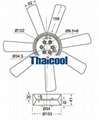 Benz Engine Cooling Fan A314.200.12.23 2