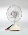 "6""  Mini Oscillating Clip Car Fan"