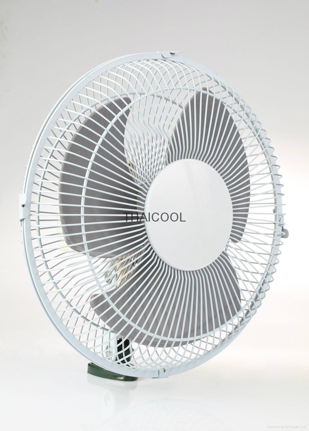 """10"""" Heavy-duty oscillating fan 1"""