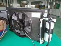 装载机空调