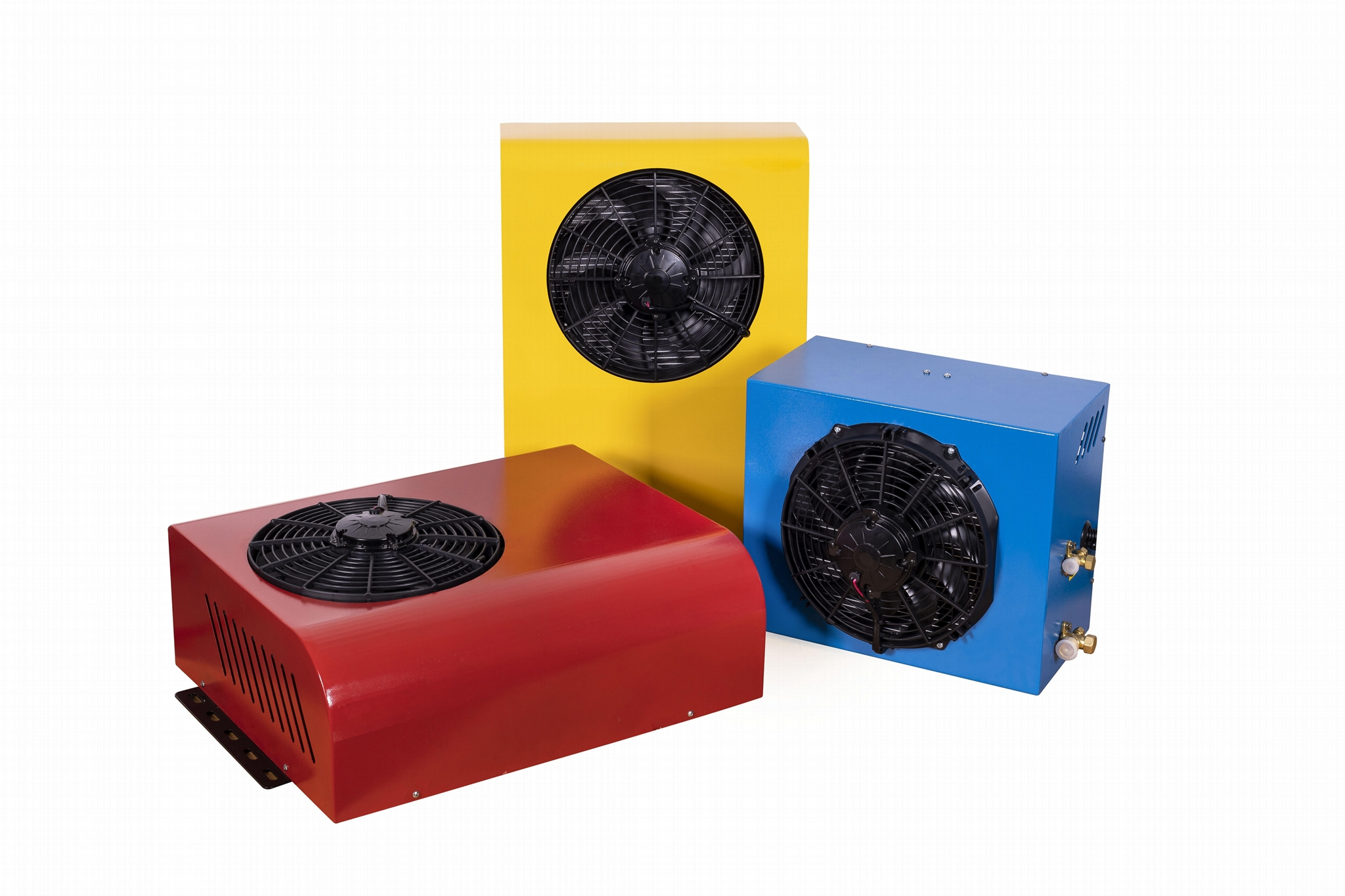 Truck air conditioning system electric parking cooler  9