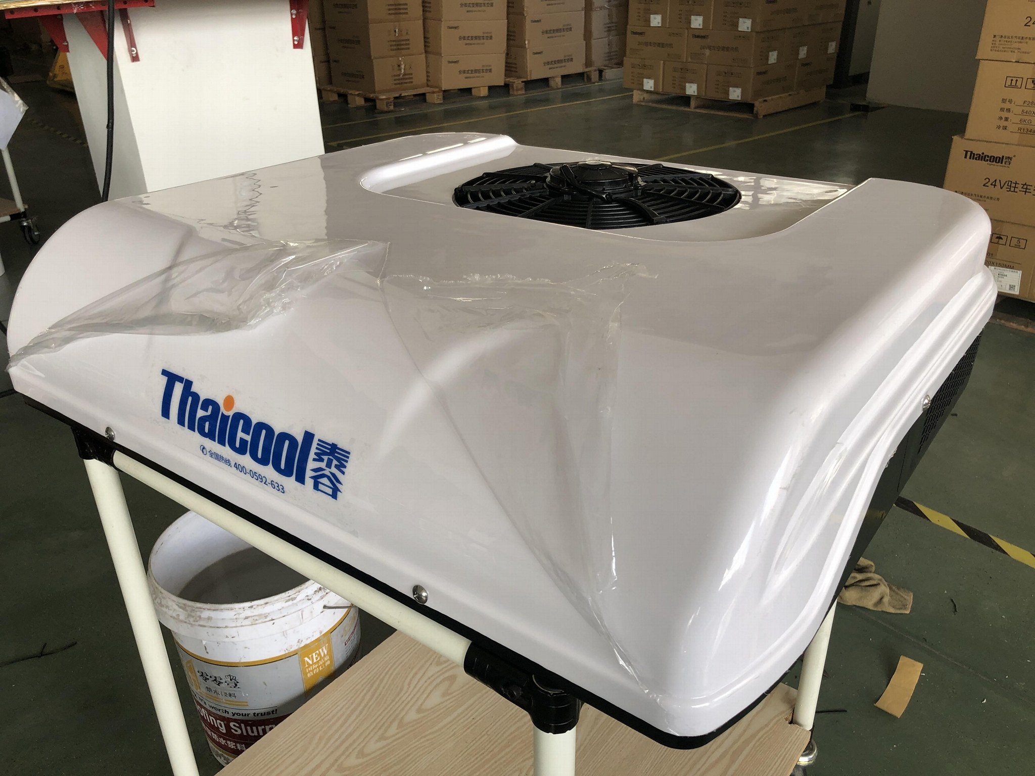 Rooftop Parking Cooler Hatch Integrated Type 3