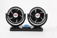 4inch double head auto oscillating car cooling fan 12v 24v car fan