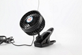 4.5 inch portable car cooling fan 12v 24v mini car fan with clip 1