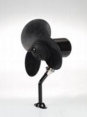5 inch 12v 24v mini rubber car fan best quality