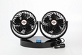 5.5 inch double head car cooling fan 12v