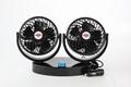 5.5 inch double head car cooling fan 12v 24v car fan