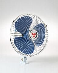8 inch 12v 24v heavy-duty motor oscillating car fan promotional