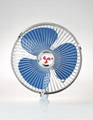 8 inch 12v 24v heavy-duty motor oscillating car fan promotional 1