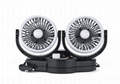 New upgrade 5 inch twin car fan