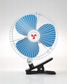 8 inch heavy-duty motor clip-on car fan
