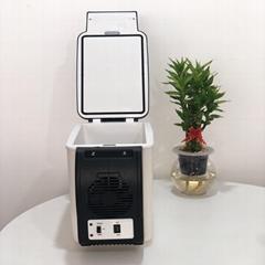 Portable Mini Fridge 6L Car Fridge 12V Outdoor Refrigerator Indoor  (Hot Product - 1*)