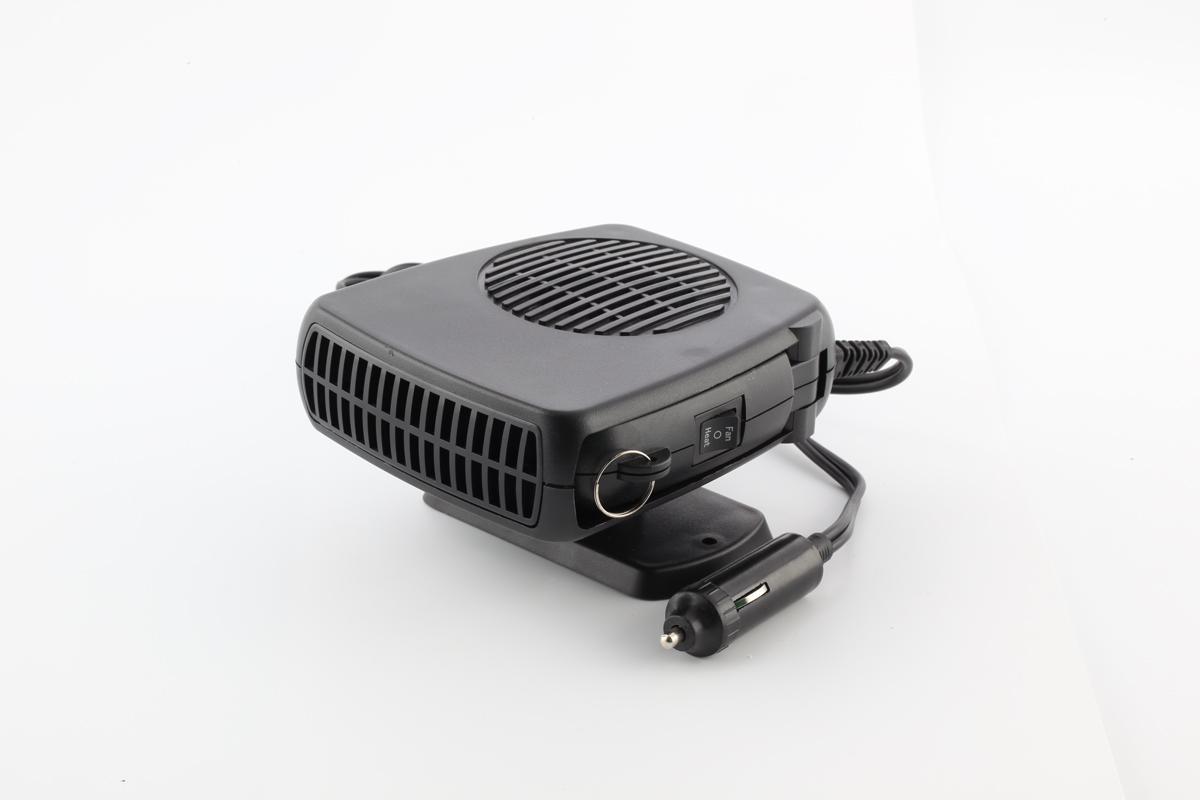 New Control Car Heater Fan Classic Thermostat Mini Home Portable  1