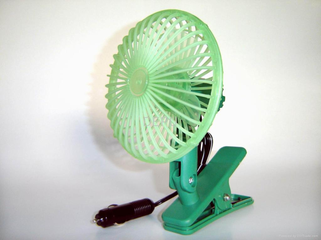 Mini Clip-on Car Fan 3