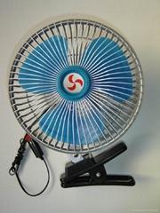 """8"""" oscillating fan8 Inch 12V/24V DC Mini Oscillating Clip Car Blower Fan"""