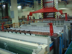 Anode processing equipment