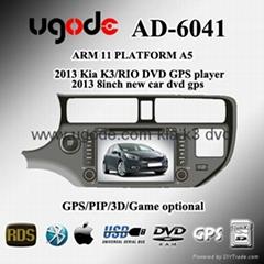 ugode 2012KIA K3/RIO DVD GPS Player  AD-6041