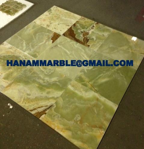 Pakistan Green Onyx Tiles 1