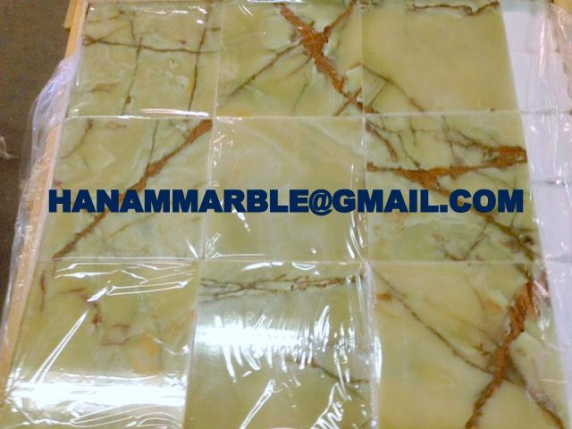 Pakistan Green Onyx Tiles 3