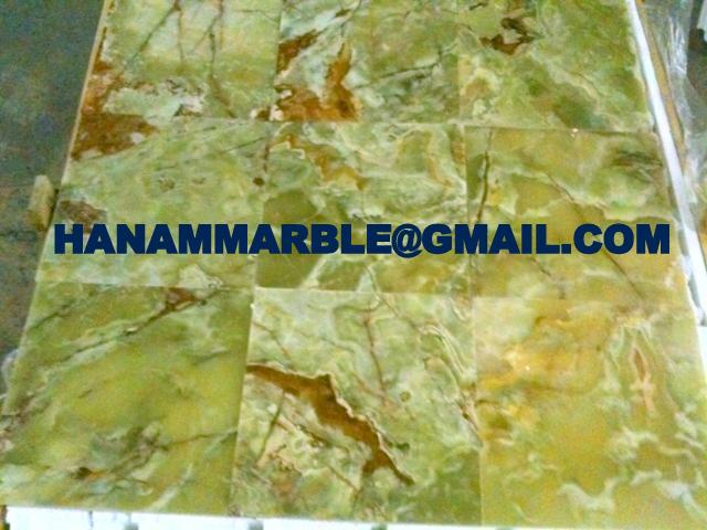 Pakistan Green Onyx Tiles 5