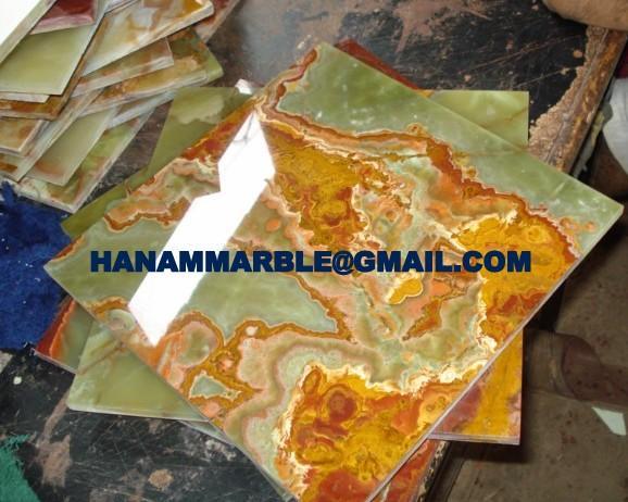 Multi Green Onyx Tiles 5