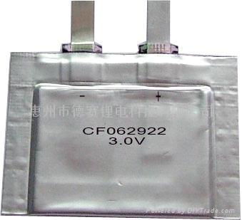 3v超薄软包锂锰电池 1