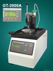 Fiber optic polish machine