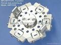 MPO/MTP/APC ferrule polish jig
