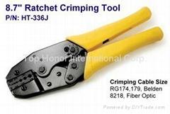 "8.7"" Ratchet Crimping Tool"