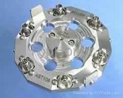 ST/APC connector polish jig