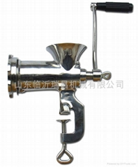 staliness steel meat mincer