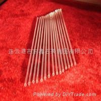 small diameter quartz glass tube