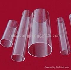 transparent  quartz glass tubes for halogen lamps