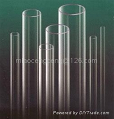 Ozone free quartz glass tubes