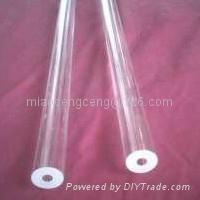 Wall Thick quartz glass tube 5