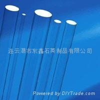 optical quartz glass rod