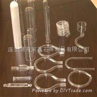 異形石英玻璃管