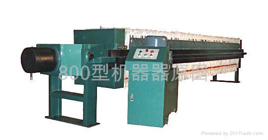 供應XMY800高壓加強型壓濾機 1