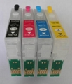 Refillable Cartridge with seperate ARC chip for T1281~4/T1251~4/T1261~4/T1271~4