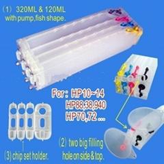 Refillable cartridge for HP printer