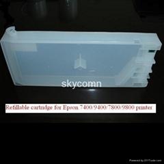爱普生7400/9400/7800/9800可填充透明墨盒