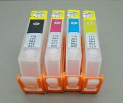 HP 364/564/178/862/920 系列填充墨盒