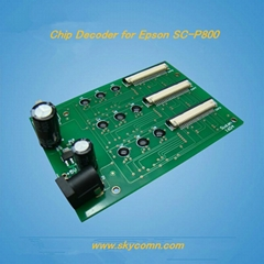 Decoder for Epson Surecolor P800 Printer