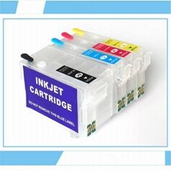 T2521 T2522 T2523 T2524;T252XL1-XL4 refill Cartridge for WF-3620/3640/7110/7610