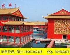 仿古彩鋼琉璃瓦、筒瓦、寺廟專用仿古瓦